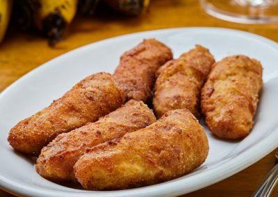 Banana a Milanesa