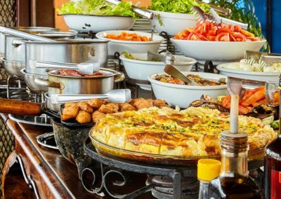 Buffet de Saladas e Guarnições